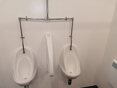 Cover House Urinals
